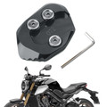 Kickstand Side Stand Extension Pad Plate For HONDA CB1000R 18-19 Titanium