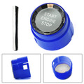 Start Stop Engine Push Button Switch Cover Crystal For BMW 1 Series F20 F21 12-16 Blue