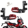 Rear Footrest Foot Pegs Passenger Rearsets For Honda X-ADV 750 17-18 Red