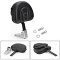 Driver Backrest For Harley models 10-19 such as Dyna Sportster Touring Softail Victory High Ball Victory Vision Tour 10-19 Black