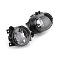 Left + Right Fog Lights Driving Kit for Amarok 11-15 Black