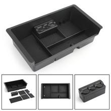 Center Console Organizer Tray For Chevrolet Silverado 2500 3500 GMC Sierra 2500 3500 Yukon XL 1500 Yukon XL 15-18 3500 14-18 Black