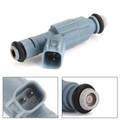 Fuel Injectors 0280155849 For Dodge Chrysler 4.7L V8 Upgrade 4 Nozzle Blue
