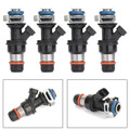 4Pcs Fuel Injector For Chevy S10 Gmc Sonoma 2.2L 25325012 00-13 Black
