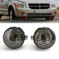 Front Fog Driving Lights For DODGE CHARGER 06-09 CALIBER 07-09 GRAND 05-09 Avenger 08-09 Caravan 05-09 Nitro 07-10 Smoke