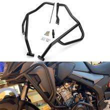 Engine Bumper Guard Upper Crash Bar For Honda CB500X 2019 Black