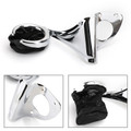 Rear Drink Cup Holder Passenger For FLTRU Road Glide 16-19 FLTRUSE CVO Road Glide Ultras FLHTCUTG Tri Glide Ultra Classics 15-16  Chrome