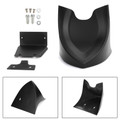 Front Chin Spoiler Air Dam Fairing For Sportster XL883 XL1200 48 72 04-19 Mblack