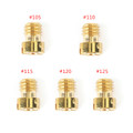 5mm Round Main Jet for Keihin Carb GY6 Scooter Motorcycle #105 #110 #115 120 125