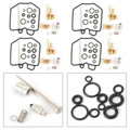 4PC Carburetor Carb Repair Rebuild Kit For Honda CB750K 79-82 CB750F 80-81
