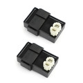 2x CDI Igniter For Honda XL600 V 87-94 Transalp MS8 CI558 with side stand switch