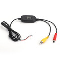 2.4GHz Wireless Video Transmitter and Receiver + 8LED HD Backup CDD Camera