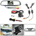 2.4GHz Wireless Video Transmitter and Receiver + 8LED Camera + Car Monitor Kit