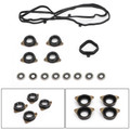 Genuine 120305A2A01 Valve Cover Gasket Set For Honda Accord K24 12030-5A2-A01 Black