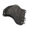 Leather Heat Shield Heat Deflector Fit Universal car Black