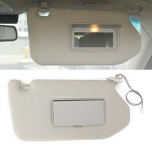 Right Sun Visor Gray For Nissan Pathfinder 13-18 Infiniti QX60 14-17 JX35 13-15