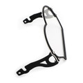Tranparent Headlight Guard Protector Cover for BMW R 1200 GS / ADV 2004-2012 Black