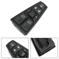 Front Master Control Window Switch For Volvo Truck FH12 FM VNL 20752918 04-12 Black