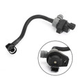 Fuel Tank Vent Valve With Pipe For BMW 128i E82-Coupe-3.0L 6 Cyl 08-13 BMW 128i E88-Convertible-3.0L 6 Cyl 08-13 Black