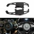 Steering Wheel Shift Paddle Extension For Volkswagen Golf MK7 15-17 Volkswagen Scirocco R 15-16 Black