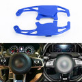 Steering Wheel Shift Paddle Extension For Volkswagen Golf MK7 15-17 Volkswagen Scirocco R 15-16 Blue