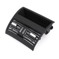 Rear Center Console Fresh Air Outlet Vent Grille Grill Cover For BMW 525d xDrive 528i 528i xDrive 530i 530d xDrive 535i 64229172167 10-16 Black
