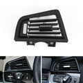 Left Console Grill Dash AC Air Vent For BMW 530i 530d 530d xDrive 535i 535i xDrive 535i GT 535i GT xDrive 535d 535d xDrive 64229166883 Black