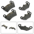 Front & Rear Brake Pads For For Polaris RZR 800 08-14 RZR 800 S 09-14 RZR 800 EPS 10-14 RZR 800 S EPS 13-14 RZR 570 12-15 RZR 570 EPS 13-15