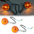 2x Turn Signal Light 12V For Honda CT70 CT90 XL100 CB350 CM400 CB450 CB750