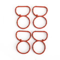 Swirl Flap Flaps Plug Blank Removal Replacement With Gaskets for BMW N47 2.0 D