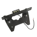 Rear License Plate Holder Bracket For Suzuki GSX-R 600 2008-2010 Black
