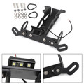 Rear License Plate Holder Bracket For YAMAHA FJ-09 / MT-09 Tracer 2015-2018 Black