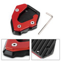 Kickstand Side Stand Extension Plate For Benelli Leoncino 500 BJ250 TNT25 BJ300 Red