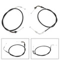 Throttle Cable Wires 5PB-26311-10 For Yamaha XVS1100A V-Star Classic 00-11 Silverado 03-11 Black