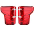 LED Bar Parking Tail Lights Brake Lamps Fit Ford F150 Pickup 15-17 Red