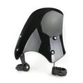 ABS Plastic Windscreen Windshield for Harley FXST Softail 05-11 FXSTB 00-09 FXSTC 07-10 FXSTD 01-07 FXS Blackline 11-13 FXDB 06-19 FXDL 96-18 Black