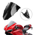 ABS Plastic Windshield WindScreen for Ducati 1299 2015-2019 Black