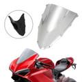 ABS Plastic Windshield WindScreen for Ducati 1299 2015-2019 Chrome
