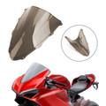 ABS Plastic Windshield WindScreen for Ducati 1299 2015-2019 Smoke