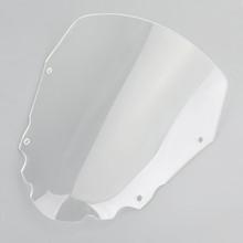 Short 4mm Windscreen Windshield for Kawasaki KLR650 2008-2014 Clear