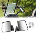Golf Cart Side Mirrors Rear View Mirror for all models of Golf cart such as for Club Car EZ-GO Yamaha Golf Carts