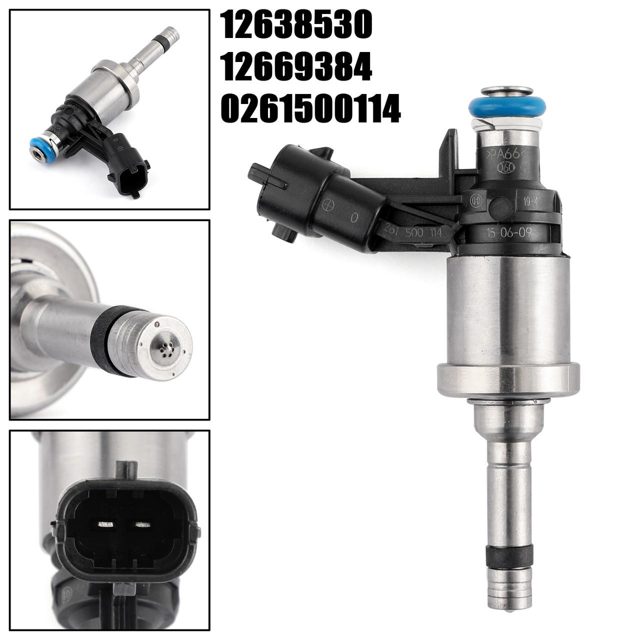 6x Fuel Injectors For GM Chevrolet Camaro Traverse GMC Acadia CTS 3.6L 12638530
