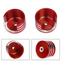 Rear Shock Absorbers Cap Guard Cover for Honda REBEL CMX 300 500 17-19 Red
