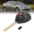 Keyless Entry Remote Car Key Fob GQ4-29T For TOYOTA AVALON 07-10 COROLLA VIN # beginning with 1 or 2 07-10 Black