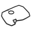 Valve Cover Gasket for Honda NT650 88-92 NTV650 88-97 Deauville 98-05 NV400 95-97 NV600 93-94 VT600C 88-07 VT600CD2 99-00 XRV750 89-03 Black