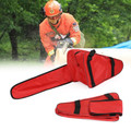 "20"" Chainsaw Carrying Bag Holdall Box Chain Saw Portable Red"