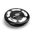 Billet Aluminum Hole Frame Plug Cap For Kawasaki EN650 VULCAN S 650 15-19 Black