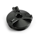 Engine Oil Filler Plug Cap Cover for BMW R1200R / LC 2010-2014 Black