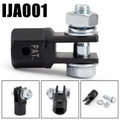 """Scissor Jack Adaptor 1/2"""" for Use with 1/2 Inch Drive or Impact Wrench Tools"""
