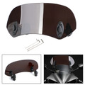 Universal 21CM Adjustable Clip On Windshield Extension Spoiler Wind Deflector Dsmoke